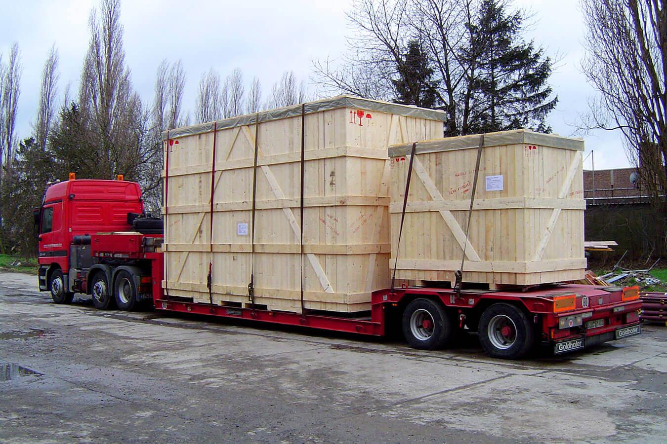 AllPack Services conçoit et fabrique des emballages en bois sur-mesure
