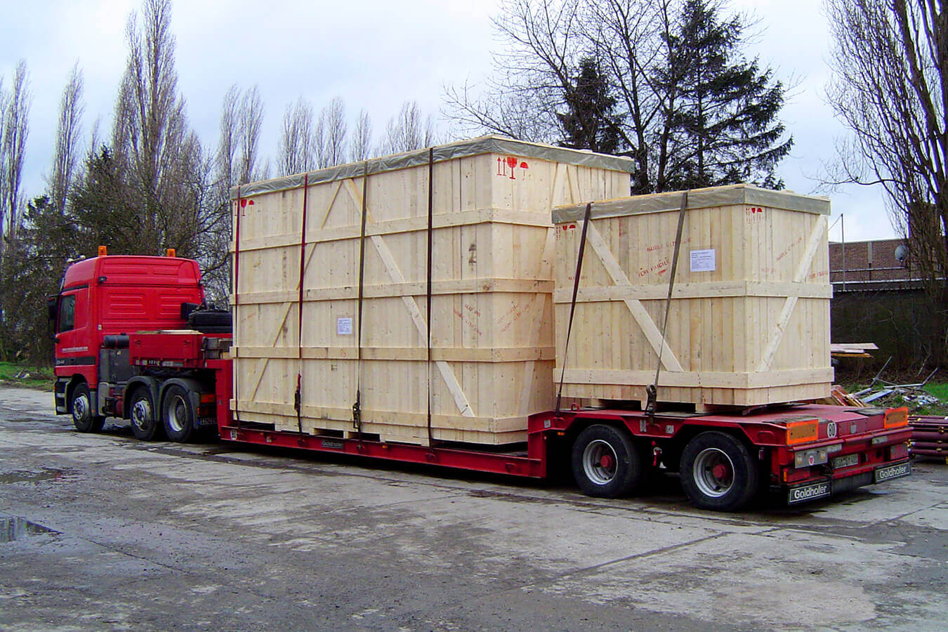 AllPack Services handles any type of industrial wood packaging material
